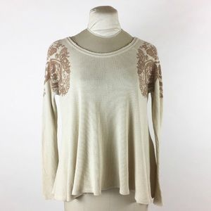 Free People Rockabilly Raglan Thermal - XS